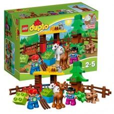 Лего Дупло Лесные животные, 10582