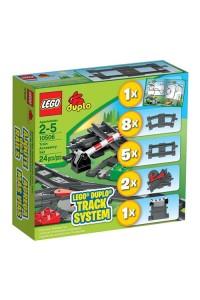 Дополнительные элементы для поезда Lego Duplo 10506