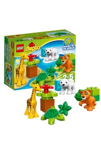 Лего Дупло Вокруг света: малыши, 10801