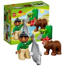 Лего Дупло Бурый медвежонок, 10576