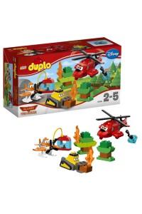 Лего Дупло Самолеты-Пожарная спасательная команда, 10538