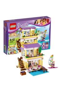 Лего Подружки Пляжный домик Стефани, 41037