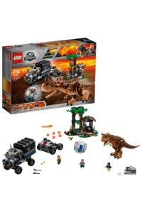 Лего Побег в гиросфере от карнотавра Lego Jurassic World 75929