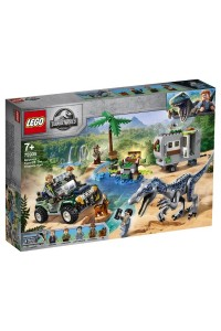 Лего Поединок с бариониксом Lego Jurassic World 75935