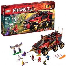 Лего Ниндзяго Мобильная база Ниндзя, 70750