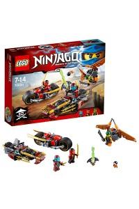 Лего Ниндзяго Погоня на мотоциклах, 70600