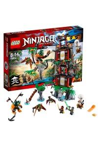 Лего Ниндзяго Остров тигриных вдов, 70604