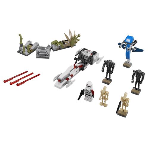 Lego star wars 75037 лего звездные войны битва