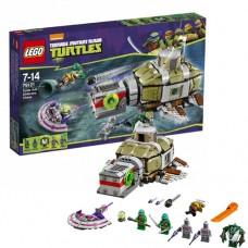 Лего Черепашки Ниндзя Погоня черепашек под водой в море 79121