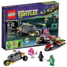 Lego Ninja Turtles 79102 Лего Черепашки Ниндзя Погоня на панцирном байке