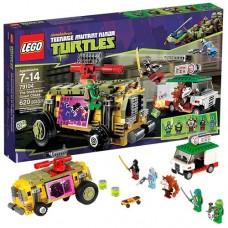 Lego Ninja Turtles 79104 Лего Черепашки Ниндзя Погоня на панцирном танке