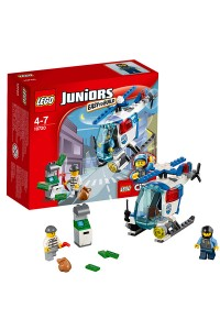 Лего Джуниорс 10720 Погоня на полицейском вертолёте