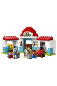 Лего 10868 Конюшня на ферме Lego Duplo