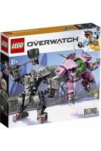 Лего 75973 Д.Ва и Райнхардт Lego Overwatch