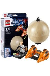Лего Звездные войны Двухместный аэромобиль и планета Беспин 9678
