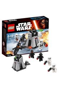 Лего Звездные войны Боевой набор Первого Ордена 75132