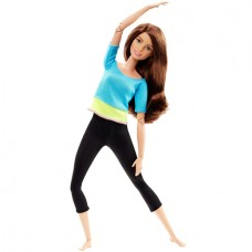 Кукла Barbie Безграничные движения Барби Made To Move DJY08