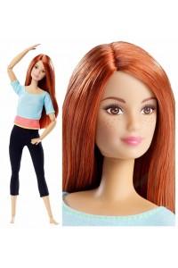 Кукла Barbie Рыжеволосая Безграничные движения Барби Made To Move DPP74