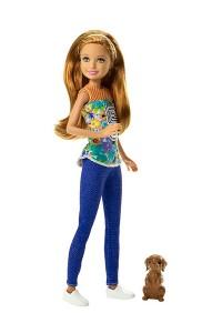Кукла Barbie В погоне за щенками Сестра Барби с питомцем DMB28