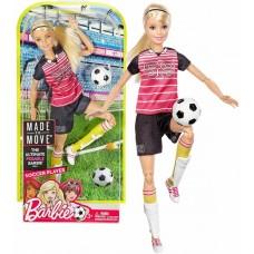 Кукла Barbie Футболистка Безграничные движения Барби Made To Move DVF69