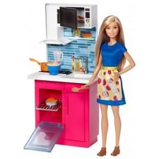 Кукла Барби Игровой набор Кухня DVX54