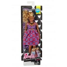 Кукла Barbie Fashionistas Барби Игра с модой DVX79