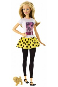 Кукла Barbie В погоне за щенками Сестра Барби с питомцем DMB26