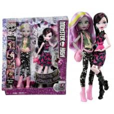 Набор кукол Monster High Дракулаура и Моаника DNY33