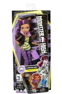 Кукла Monster High Клодин Вульф DVH23 Первый день в школе