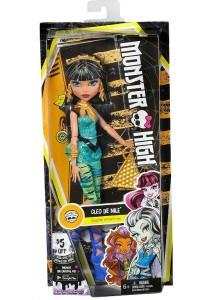 Кукла Monster High Клео де Нил DVH24 Первый день в школе