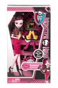 Кукла Монстер Хай Дракулаура Я люблю обувь BBR91