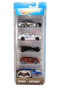 Машинки Хот Вилс Подарочный набор из 5 машинок Hot Wheels