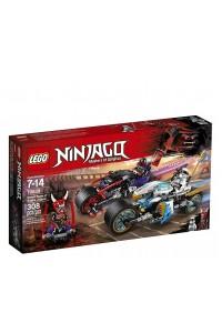 Lego Ninjago 70639 Уличная пагоня