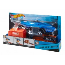 Хот Вилс Игровой набор Супербоевой вертолет CDK80