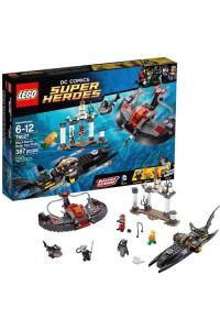 Лего Супер Герои Глубоководная атака Чёрной Манты, 76027