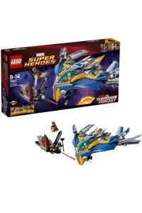 Лего Супер Герои Стражи Галактики: Спасение на космическом корабле, 76021