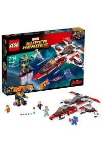 Лего Супер Герои Реактивный самолёт Мстителей: космическая миссия, 76049