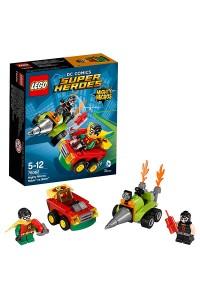 Лего Супер Герои Робин против Бэйна, 76062