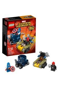 Лего Супер Герои Капитан Америка против Красного Черепа, 76065