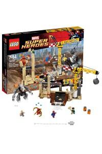 Лего Супер Герои Носорог и Песочный человек против Супергероев, 76037