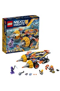 Lego Nexo Knights Бур-машина Акселя 70354