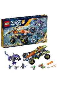 Lego Nexo Knights Вездеход Аарона 4x4 Нексо Найтс 70355