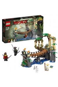 Lego Ninjago Битва Гармадона и Мастера Ву 70608