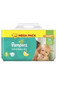 Pampers подгузники Active Baby-Dry 5 (11-18 кг) 110 шт