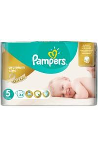 Pampers подгузники Premium Care 5 (11-18 кг) 44 шт