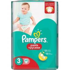 Pampers трусики Pants 3 (6-11 кг) 60 шт