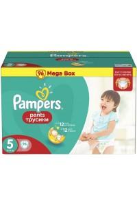 Pampers трусики Pants 5 (12-18 кг) 96 шт