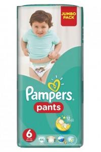 Pampers трусики Pants 6 (16+ кг) 44 шт