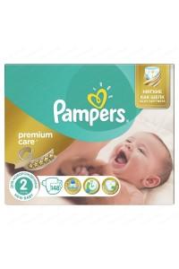 Pampers подгузники Premium Care 2 (3-6 кг) 148 шт
