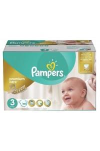 Pampers подгузники Premium Care 3 (5-9 кг) 120 шт